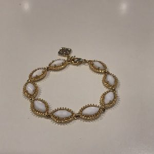 Kendra Scott Gold & White Bracelet